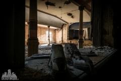 blue ballroom, abandoned ballroom, germany, opuszczona sala balowa, urbex, abandoned (1 of 11)