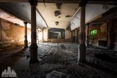 blue ballroom, abandoned ballroom, germany, opuszczona sala balowa, urbex, abandoned (3 of 11)