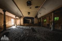 blue ballroom, abandoned ballroom, germany, opuszczona sala balowa, urbex, abandoned (4 of 11)