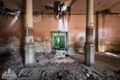 blue ballroom, abandoned ballroom, germany, opuszczona sala balowa, urbex, abandoned (5 of 11)