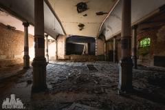 blue ballroom, abandoned ballroom, germany, opuszczona sala balowa, urbex, abandoned (6 of 11)