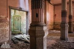 blue ballroom, abandoned ballroom, germany, opuszczona sala balowa, urbex, abandoned (8 of 11)