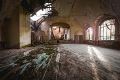 collapsed  ballroom, urbex, abandoned ballroom, germany, opuszczona sala balowa, urbex, abandoned, opuszczone (1 of 1)