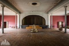 golden ballroom, abandoned ballroom, germany, opuszczona sala balowa, urbex, abandoned (1 of 5)