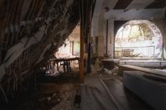 trashed  ballroom, urbex, abandoned ballroom, germany, opuszczona sala balowa, urbex, abandoned, opuszczone (3 of 3)