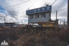deadinside, urbex, dead inside, natalia sobanska, abandoned, abandoned car shop, impala, lincoln, mercedes, fukushima exclusion zone, abandoned Japan, Haikyo, (1 of 20)