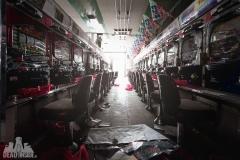 Fukushima exclusion zone, strefa wykluczenia, japan, japonia, abandoned, opuszczone, pachinko, saloon, games room, abandoned, urbexm abandoned japan, japonia-2