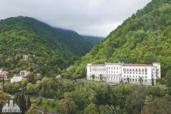 deadinside, urbex, dead inside, natalia sobanska, abandoned, abandoned sanatorium Abkhazia, z drona (3 of 4)